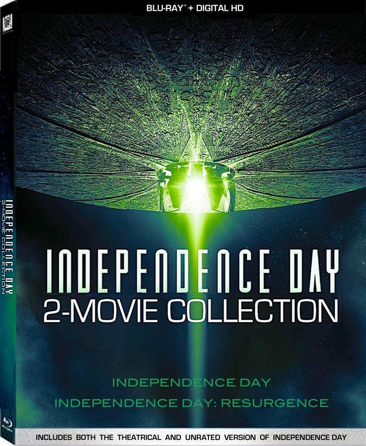 INDEPENDENCE DAY 2-MOVIE COLLECTION: INDEPENDENCE DAY / INDEPENDENCE DAY: RESURGENCE BLU-RAY