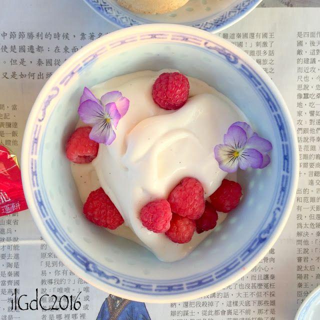 il giardino dei ciliegi: Crema fredda al latte condensato, vaniglia e lampo...