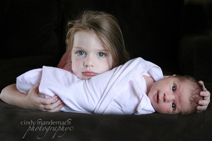 protective big sister....