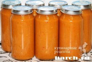 Хреновина из кабачков, zagotovki iz baklazhanov kabachkov i sladkogo perca domashnie zagotovki