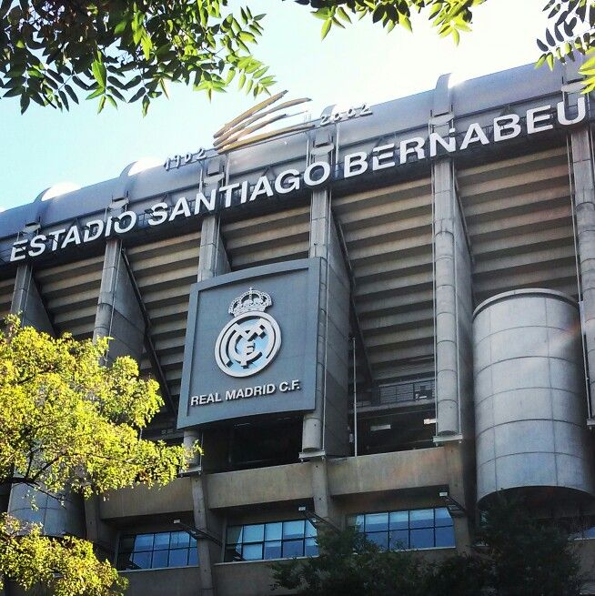Santiago Bernabeu, Madrid #Madrid #Spain #travel #stadium #RealMadrid #RealCF