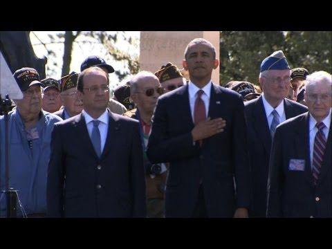 obama d day france
