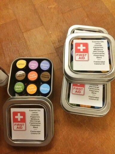 Mini First Aid Kit Doterra Stuff Pinterest Aid Kit