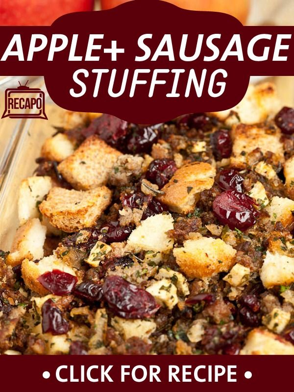 "Kelly welcomed her ""favorite"" mother-in-law, Camilla Consuelos, to share her recipe for Apple Sausage Stuffing. Camilla first came to America from Italy in 1975, so before that, she never celebrated Thanksgiving. Now, she loves the holiday, because it gives her the chance to count the many blessings she has in her life."