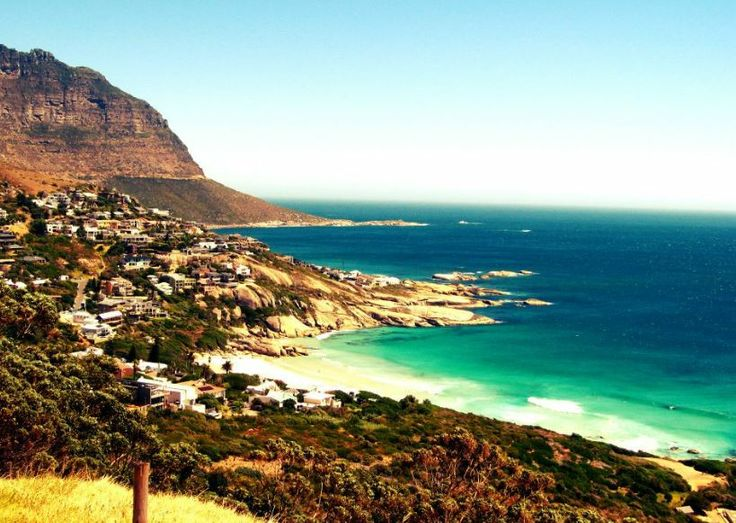 View of Camps Bay from the top of the road. #CampsBay #CapeTown #beaches