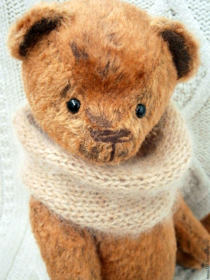 Купить Эмиль... - коричневый, мишка, мишка тедд, мишка тедди купить, мишка тедди авторский
