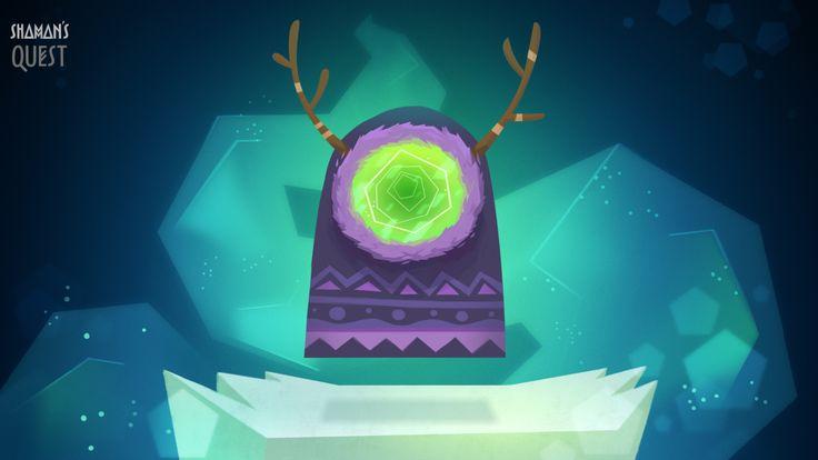 Shaman. Art by Polina Tsareva #animation #background #shaman #character