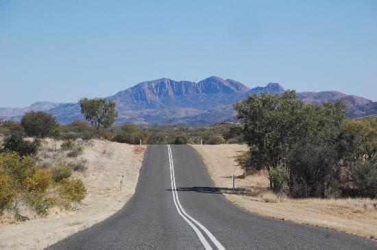 MacDonnell Ranges: Driving the West McDonalds to Mt Sonder near Alice Springs, Northern Territory #Australia