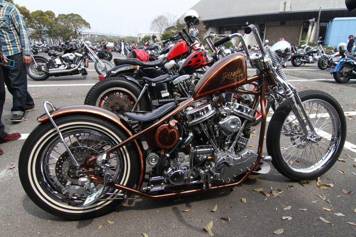 Old School Paint Jobs On Harleys
