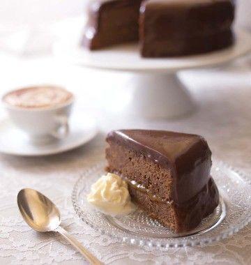 Sacher torte – Gâteau chocolat abricot de Vienne (DIY photo pas à pas) - les meilleures recettes de cuisine d'Ôdélices
