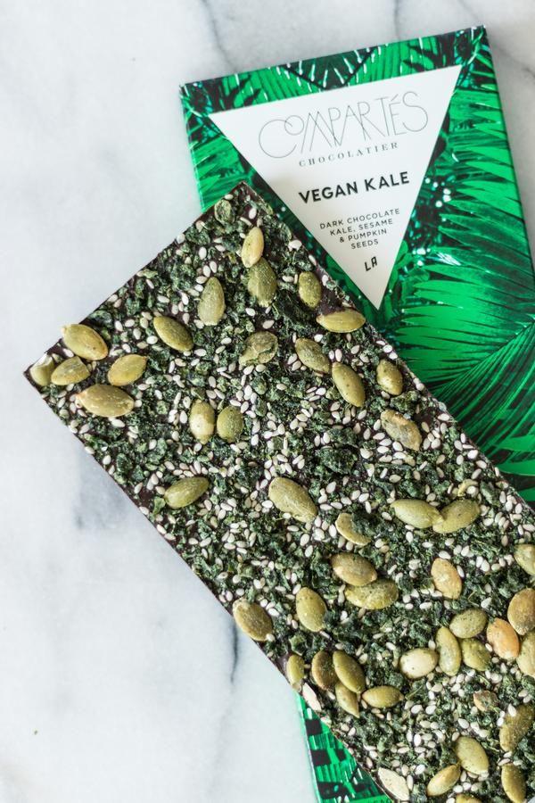 VEGAN KALE Healthy Kale Dark Chocolate Bar