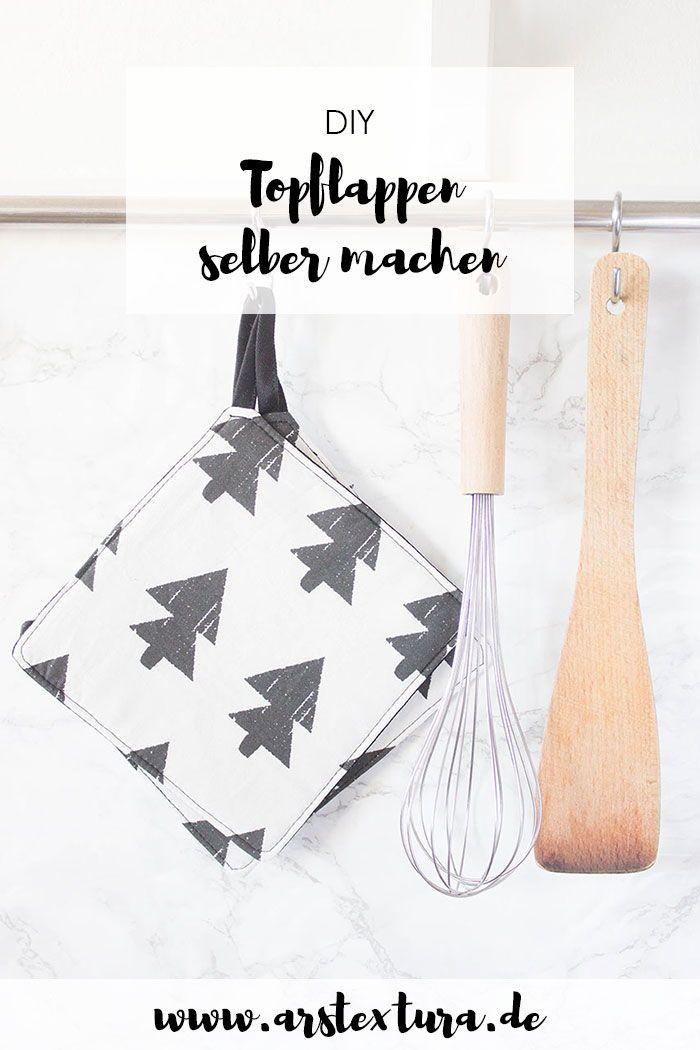7 * Anfängerfreundliche DIY Topflappen | DIY Blogger | Pinterest ...
