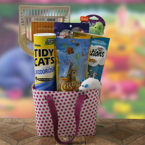The Cats Meow Pet Gift Basket Cat Price 5295 Gift Baskets