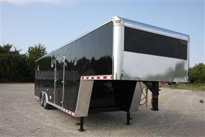 Continental Cargo Trailers 32 Ft Gooseneck Enclosed