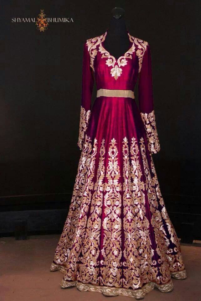 Beautiful gown #saree #indian wedding #fashion #style #bride #bridal party #brides maids #gorgeous #sexy #vibrant #elegant #blouse #choli #jewelry #bangles #lehenga #desi style #shaadi #designer #outfit #inspired #beautiful #must-have's #india #bollywood #south asain