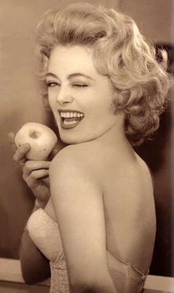 """A very young Rue McClanahan (Blanche from The Golden Girls) - She was also a vegetarian. One of her quotes; """"Cruelty is one fashion statement we can all do without."""" - Rue McClanahan"""