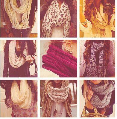 scarves. ❤