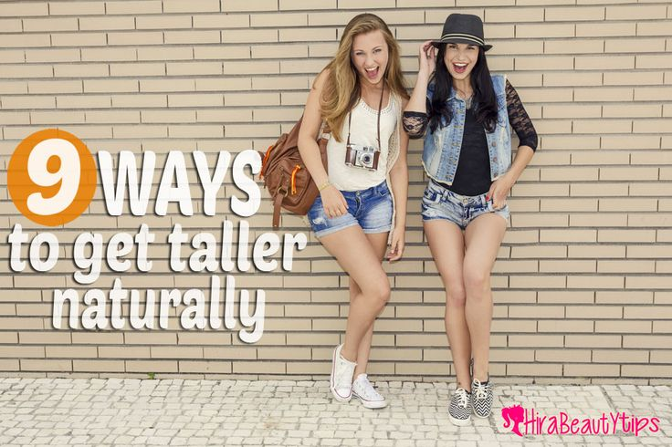 There are numerous ways and simple steps on how to get taller naturally. You still have the chance to do so if you desire to grow taller by a couple of inches