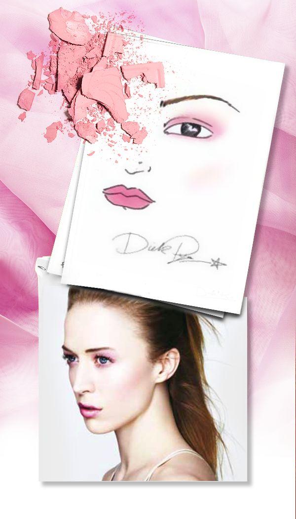 """Ogni donna ha il suo rosa: ecco il """"pink total look"""" di Dick Page, per far sentire tutte le donne dolci, romantiche e attraenti. #makeupartist #Shiseido www.shiseido.it"""