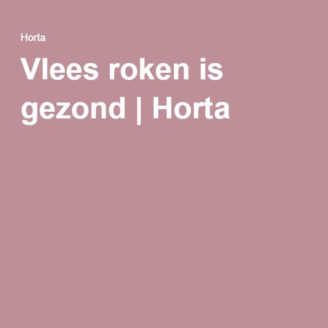 #Vlees_roken is #gezond #Horta #rookoven #roken #vlees #vis #gevogelte #groenten #ijs