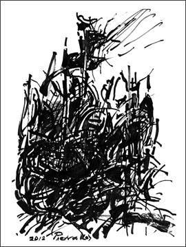 Γιατί πρέπει να δείτε οπωσδήποτε τα 39 έργα με σινική μελάνη του Αλκη Πιερράκου στο Μπενάκη | iefimerida.gr