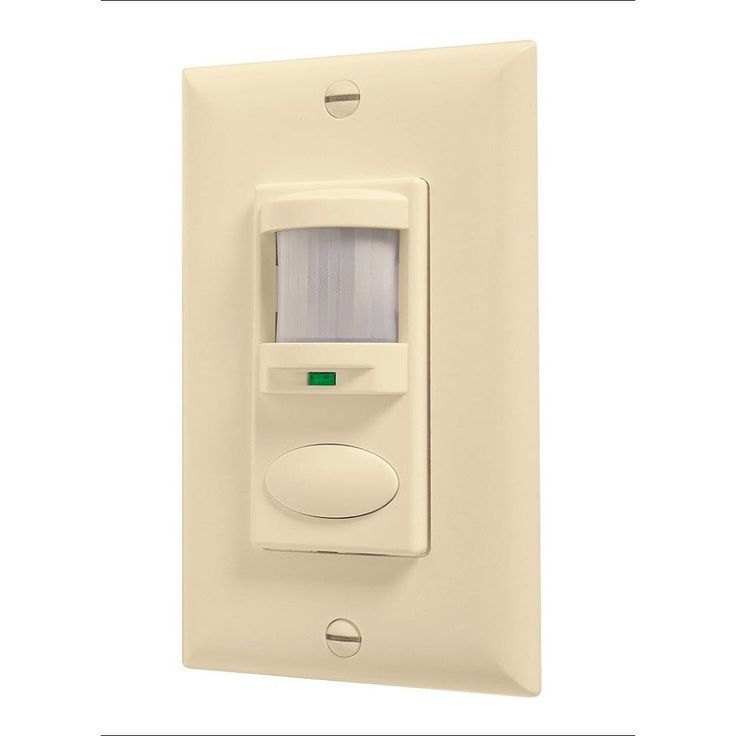 Lithonia Lighting Sensor Switch WSD PDT IV, 1-Pole Passive Infrared Sensor with Microphonics