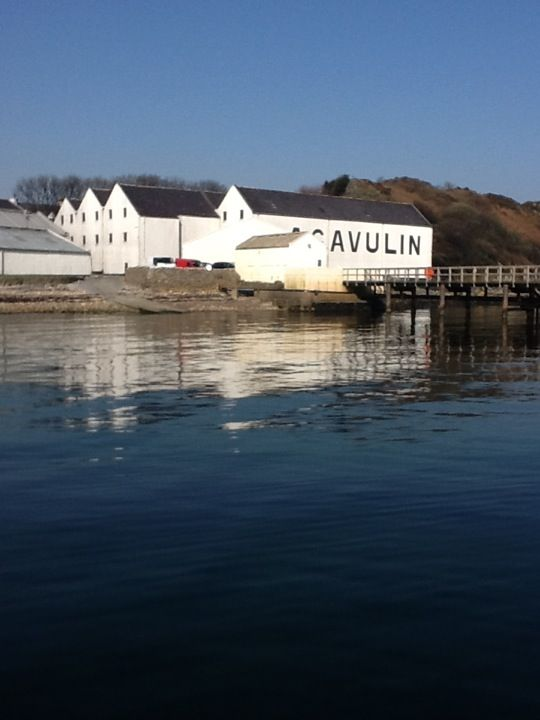 Lagavulin Distillery & Visitors Centre i Port Ellen
