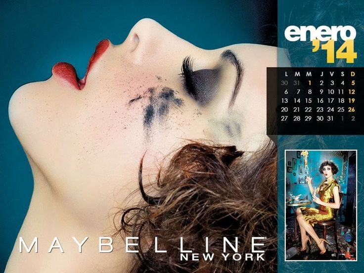 magazine-photoshoot: Maybelline Calendar 2014 featuring Hot Model Pictures