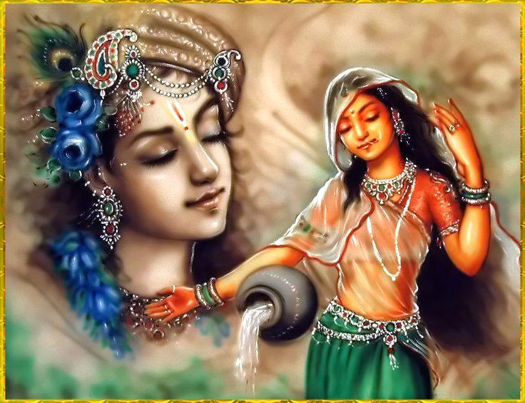RADHA KRISHNA Artist: Mahendra Dubey http://www.krishna.com/