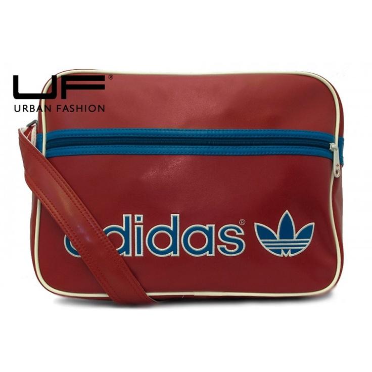 Bolso Adidas Ac Airline Rojo