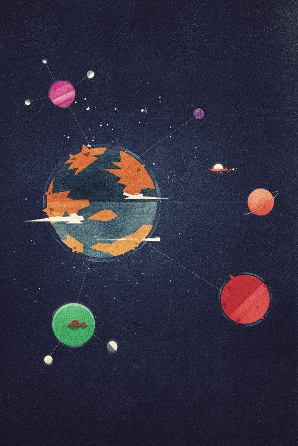 Dan Matutina Creates Edgy Google Planets World for Google Plus Course