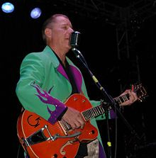 Reverend Jim Heath  (The Reverend Horton Heat is the stage name of American musician Jim Heath)