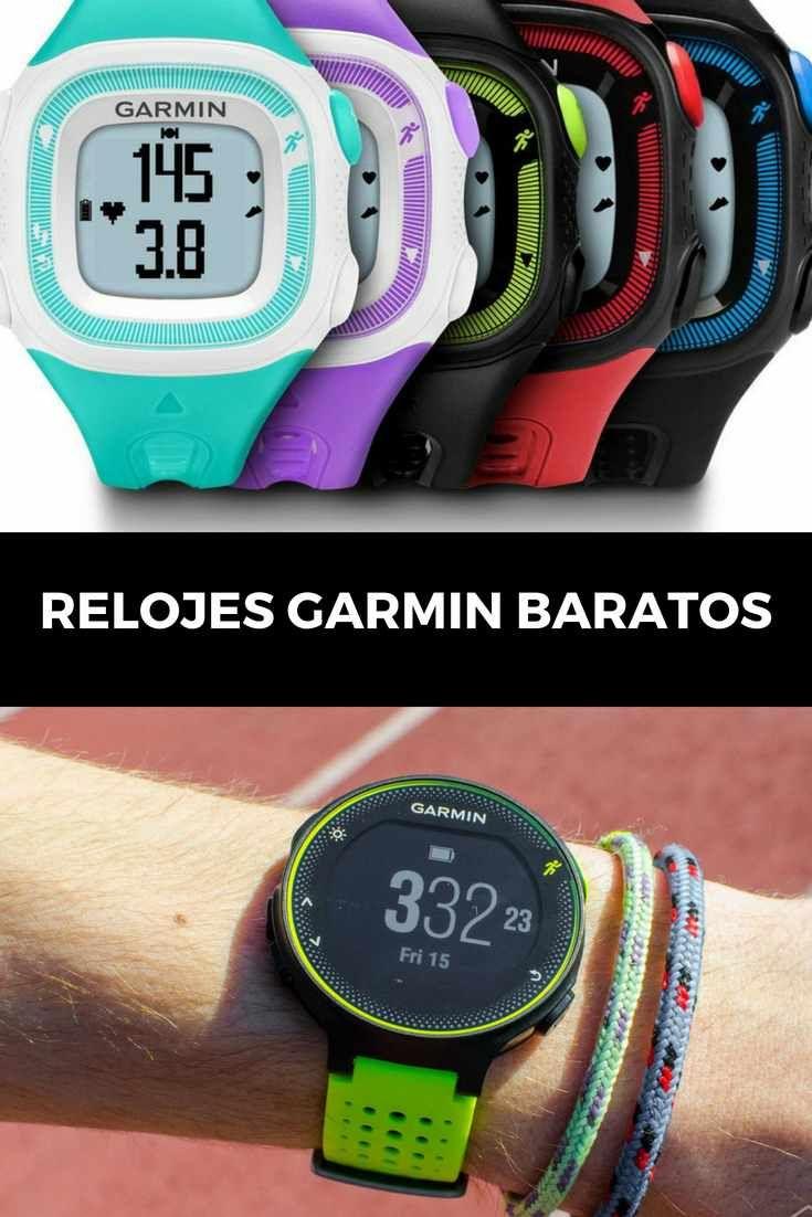 Relojes GPS de oferta y baratos para correr.
