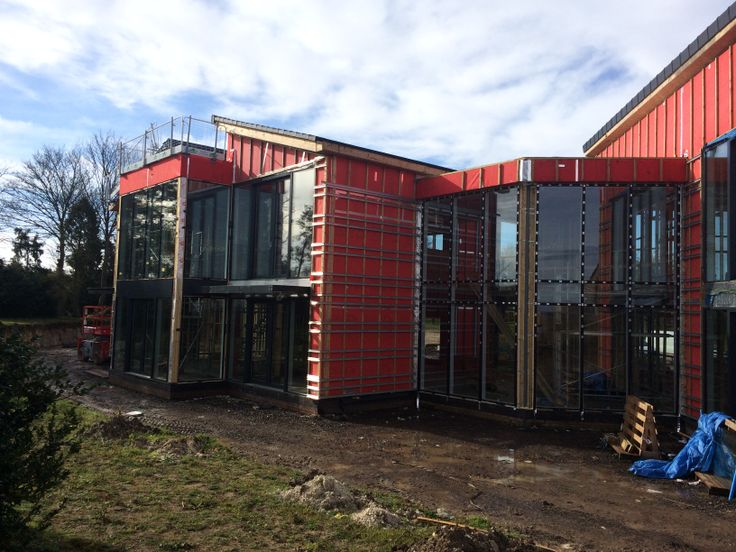 11 sets of lift and slide triple glazed Internorm HS330, 3m tall!