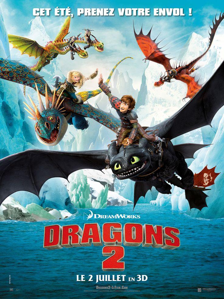 Dragons 2 est un film de Dean DeBlois avec Jay Baruchel, Cate Blanchett. Synopsis : Tandis qu'Astrid, Rustik et le reste de la bande se défient durant