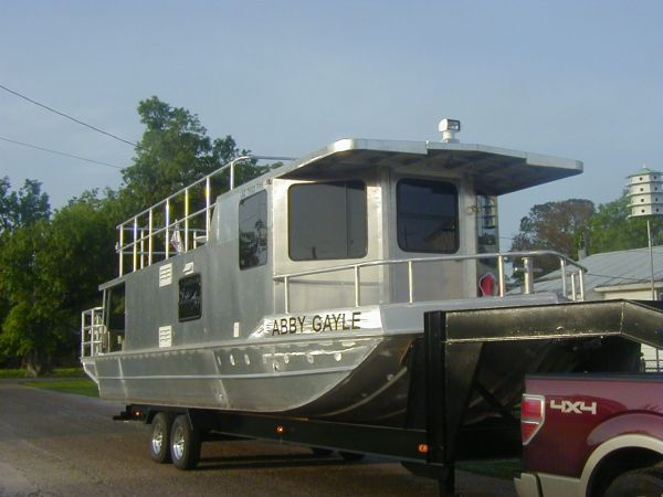 2011 Homemade Aluminum Houseboat House Boat For Sale in Southwest Louisiana - Louisiana ...