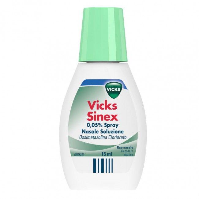 Vicks Sinex è un decongestionante nasale che ti aiuta a liberare il naso chiuso, offrendoti un sollievo rapido e prolungato. Posologia:1-2 spruzzi per narice, ogni 6-8 ore; la durata del trattamento non deve superare i 4 giorni. Adulti e bambini sopra i 12 anni. Prezzo: 6,68€ Sconto:25%  #salute #benessere #raffreddore #offerta