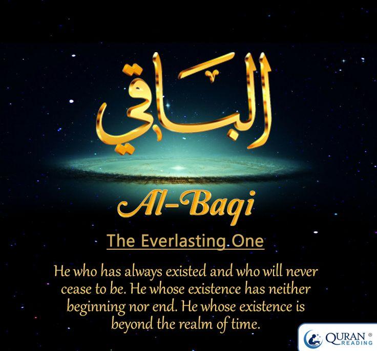 #Allah's Name Al-Baqi