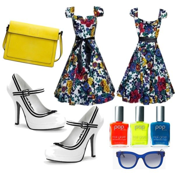 """""""Primary colours pop"""" by jessica-brown-i on Polyvore"""