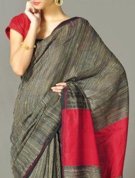 Kantha Cotton Saree