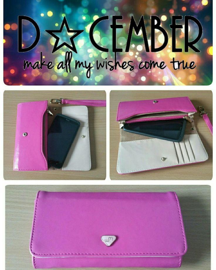 Mooie roze portemonnee, beautiful pink wallet