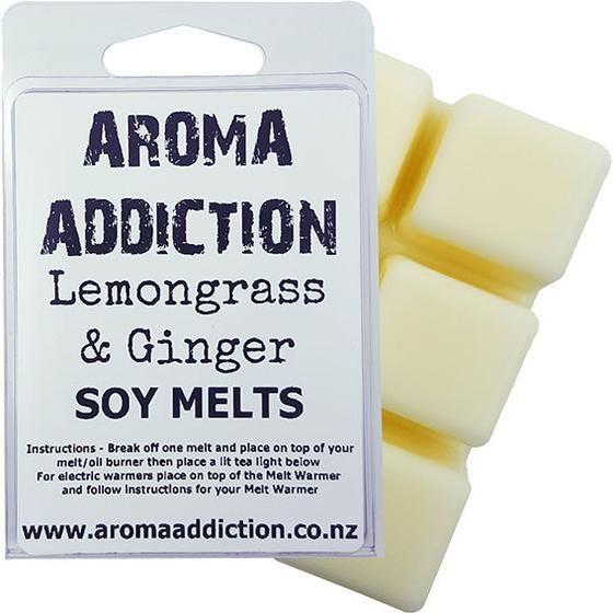 Lemongrass & Ginger Melt Pack Scented melts Aroma Addiction