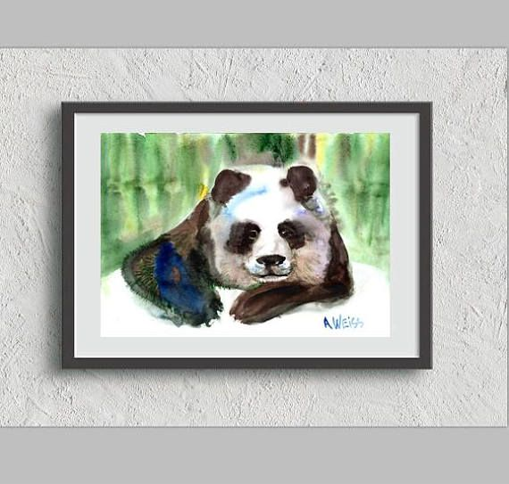 Check out this item in my Etsy shop https://www.etsy.com/listing/478787112/panda-printed-artwork-poster-wall