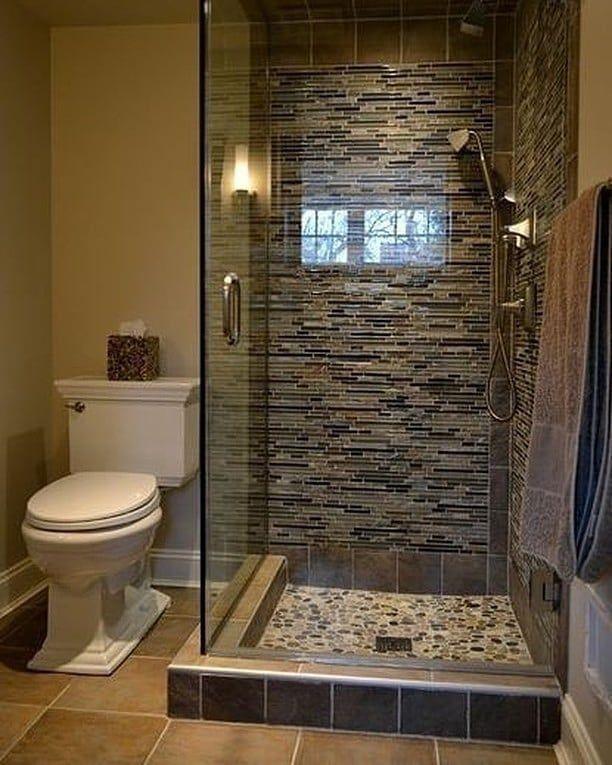 Tag A Friend Like Comment Follow Dekorasikamarmandi For More Pin Small Bathroom Inspiration Bathroom Remodel Shower Small Bathroom Remodel