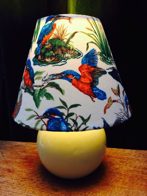 Gorgeous hand crafted and decorated table lamp by StuffOfBeauty
