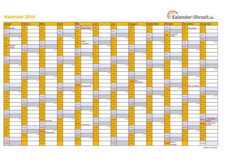 37 besten kalender 2016 zum ausdrucken bilder auf pinterest kalender 2016 zum ausdrucken. Black Bedroom Furniture Sets. Home Design Ideas