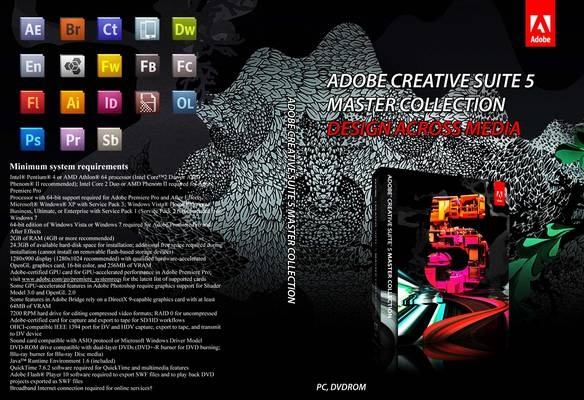 One of my favorite set of programs.  The adobe master collection helps me in my work as a Digital Media Major.