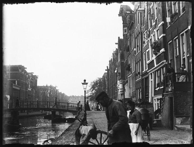 Lindengracht, Amsterdam 1895. Foto: Jacob Olie