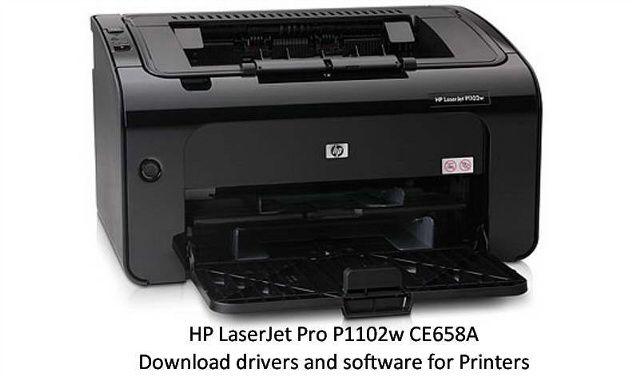 Hp Laserjet Pro P1102w Ce658a Laser Printer Printer