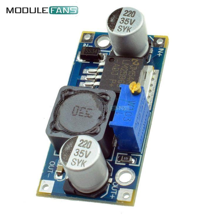 2PCS NEW DC-DC adjustable power step-down module Blue LM2596 Buck Converter Module 3.2V-40V To 1.25V-35V Voltage Regulator //Price: $1.68//     #electonics